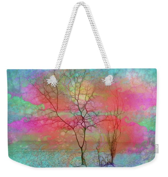 The Tree With Wings Weekender Tote Bag