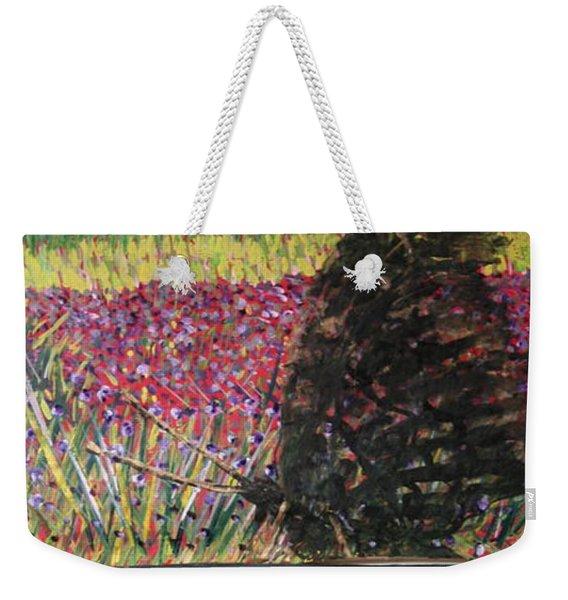 The Trickle Down Effect Weekender Tote Bag