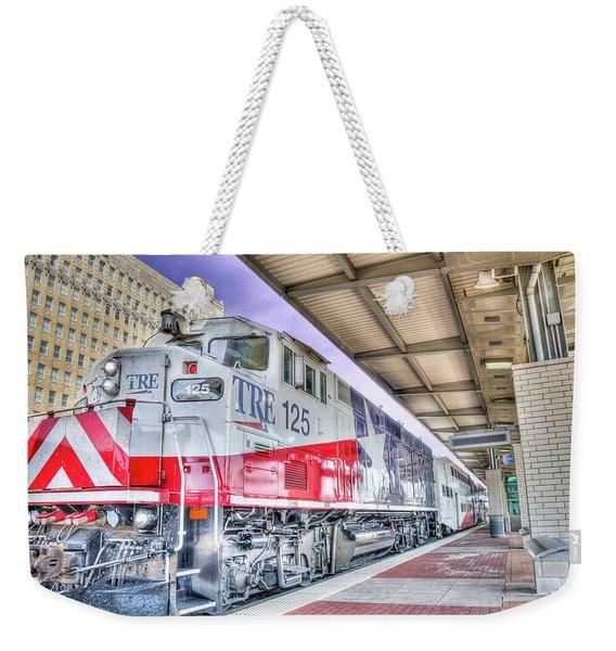 The Trinity Railway Express Tre Weekender Tote Bag
