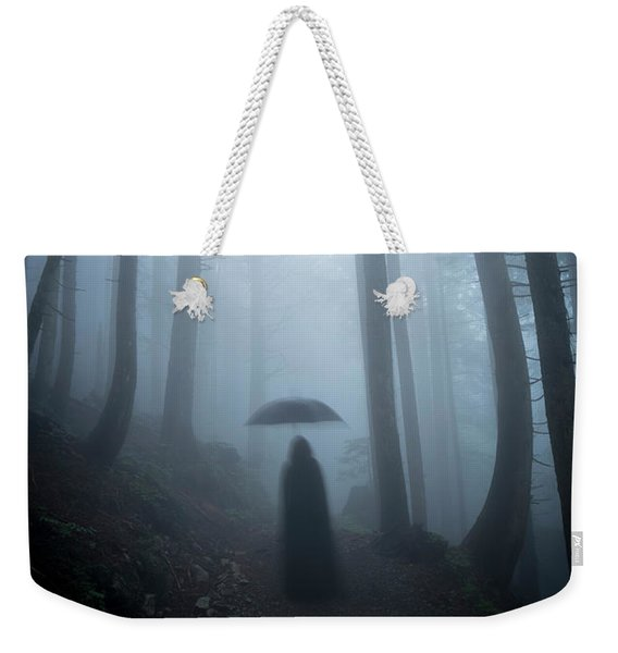 The Umbrella Weekender Tote Bag