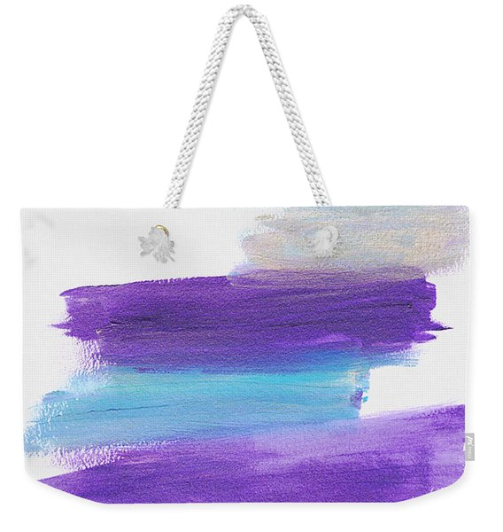 Weekender Tote Bag featuring the painting The Unconscious Mind by Bee-Bee Deigner