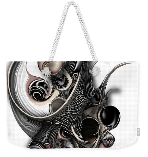 The Unfolding Purity Weekender Tote Bag