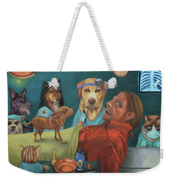 The Vet's Worst Nightmare Weekender Tote Bag