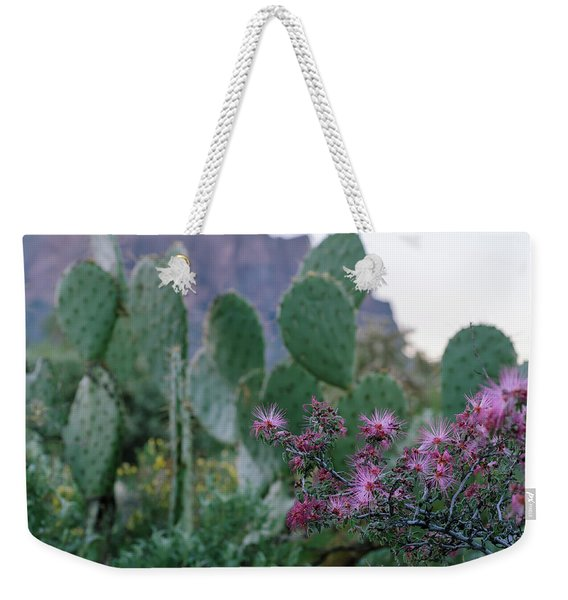 The Vibrant Desert Weekender Tote Bag