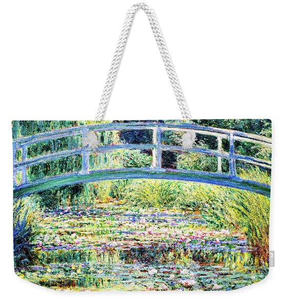 The Water Lily Pond By Monet Weekender Tote Bag