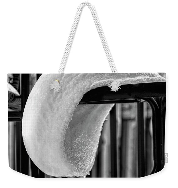 The White Beret Weekender Tote Bag