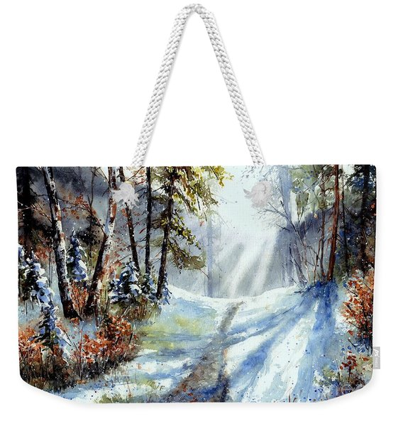 The White Light Weekender Tote Bag