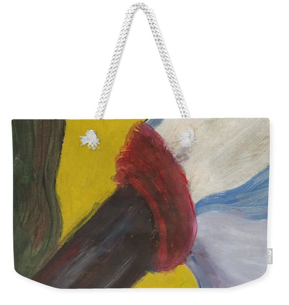 The Wind Blows And Things Fall Weekender Tote Bag