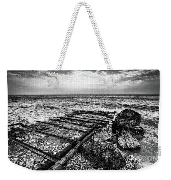 The Winter Sea #6 Weekender Tote Bag