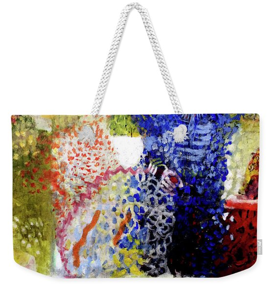 The Word Was Made Flesh The Egg And I Weekender Tote Bag