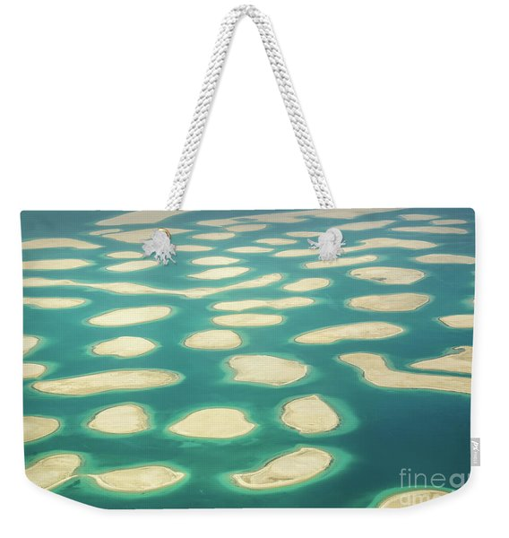 The World Islands In Dubai Weekender Tote Bag