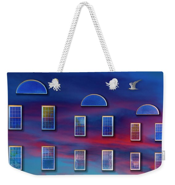 The Wormhole Weekender Tote Bag