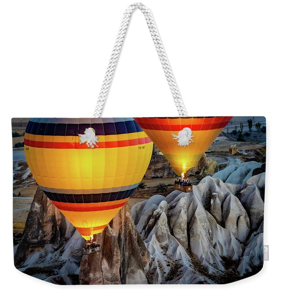 The Yellow Balloons Weekender Tote Bag