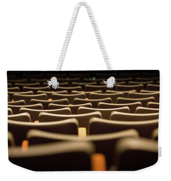 Theater Seats Weekender Tote Bag