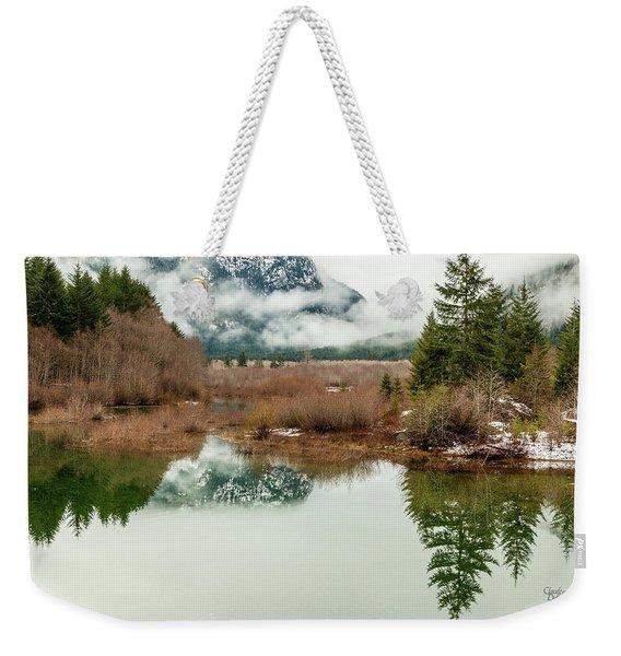 Thelwood Creek - Winter Weekender Tote Bag