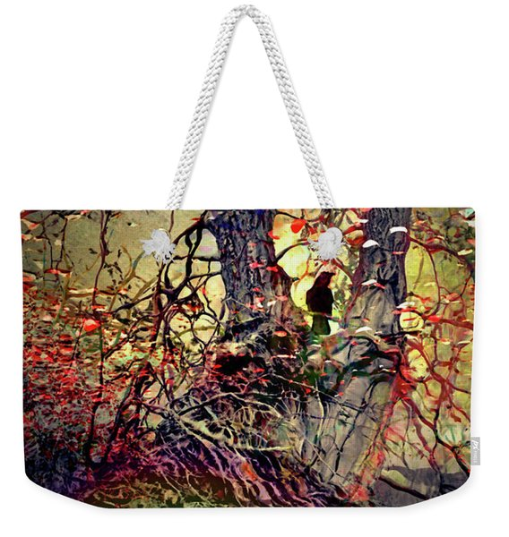 There Are Roots In My Rainbows And Rainbows In My Roots Weekender Tote Bag