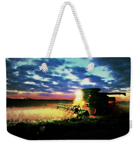 There Goes The Beans Weekender Tote Bag