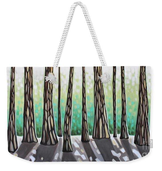 Look Beyond The Shadows Weekender Tote Bag