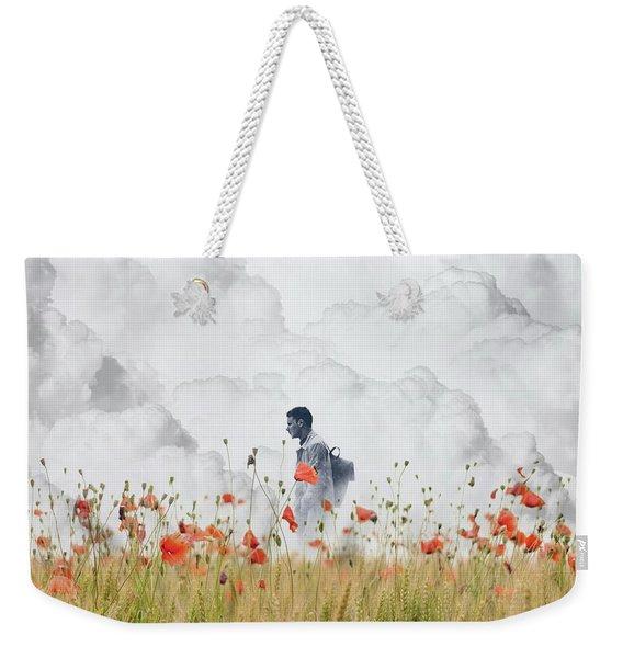 The Time Traveler  Weekender Tote Bag