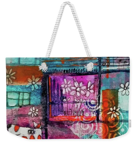 Thinking Happy Thoughts Weekender Tote Bag