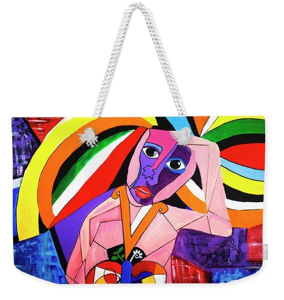 Thinking Of Peace Weekender Tote Bag