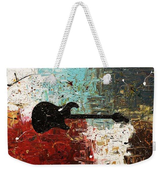 Thinking Out Loud Weekender Tote Bag
