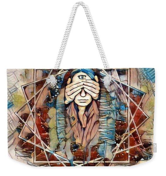 Third Eye - Awakening Weekender Tote Bag