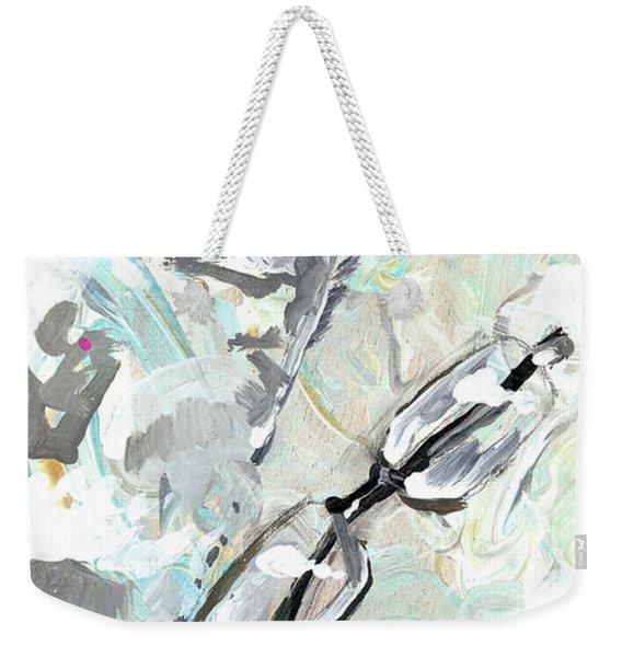 This Is Why I Hate Needles Weekender Tote Bag