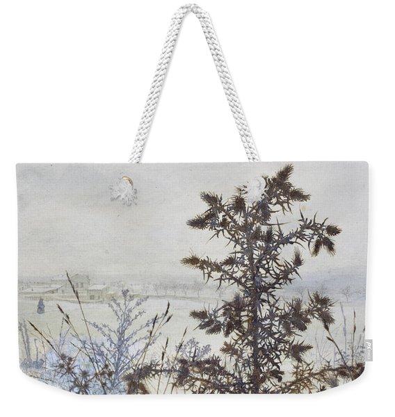 Thistles And Weeds Weekender Tote Bag