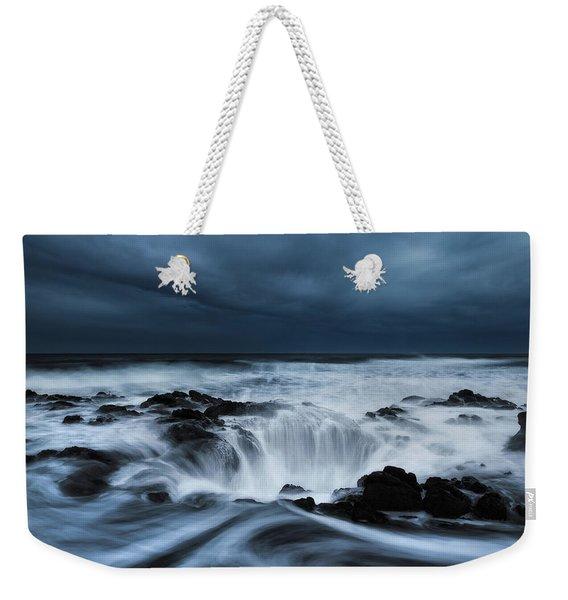 Thor's Storm Weekender Tote Bag