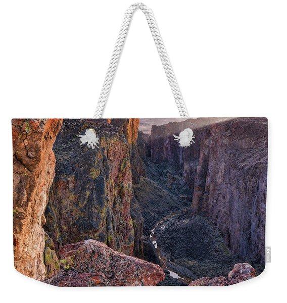 Thousand Creek Gorge Weekender Tote Bag