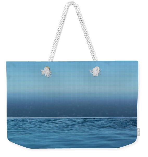 Three Layers Of Blue Weekender Tote Bag