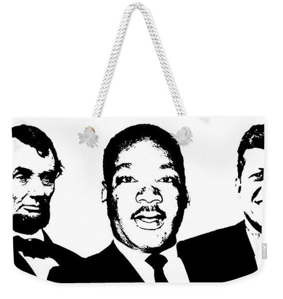 Three Leaders Weekender Tote Bag