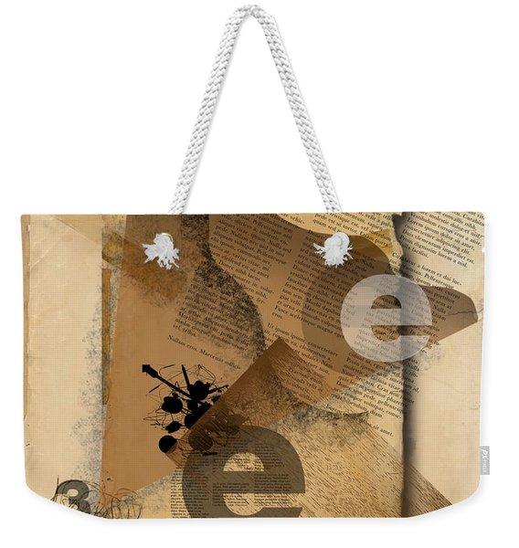Three Weekender Tote Bag