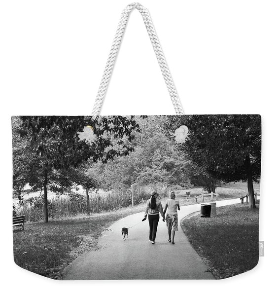 Threes A Company Weekender Tote Bag