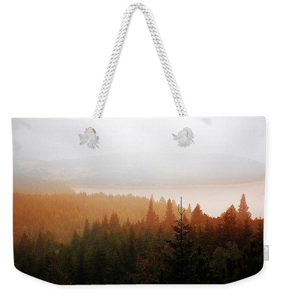 Through The Mist Weekender Tote Bag