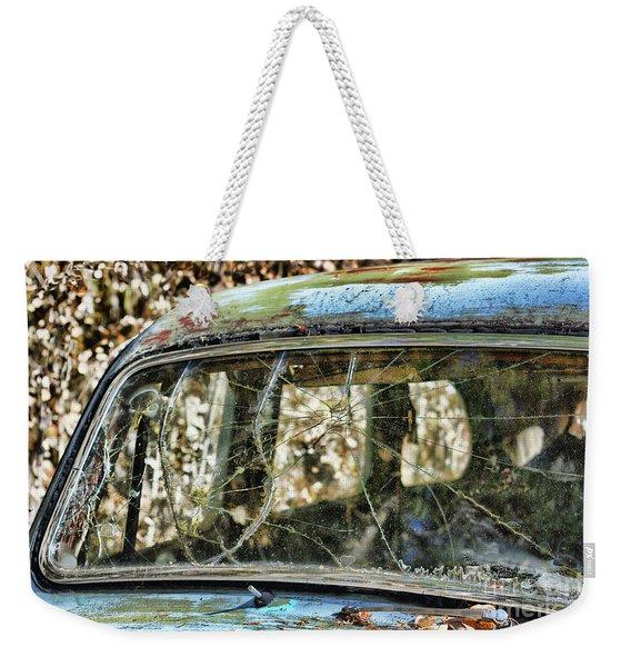 Through The Windshield Weekender Tote Bag