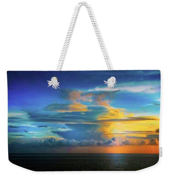 Thunder At Sun Set Weekender Tote Bag