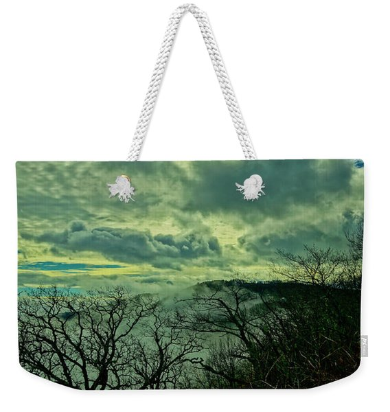 Thunder Mountain Clouds Weekender Tote Bag