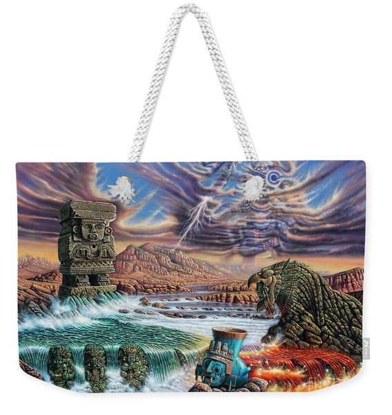Thundering Gods Weekender Tote Bag