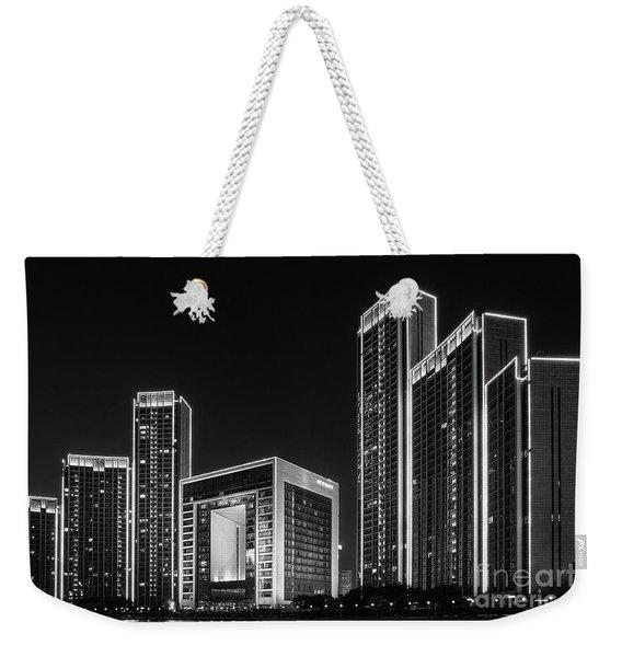 Tianjin Skyline Weekender Tote Bag