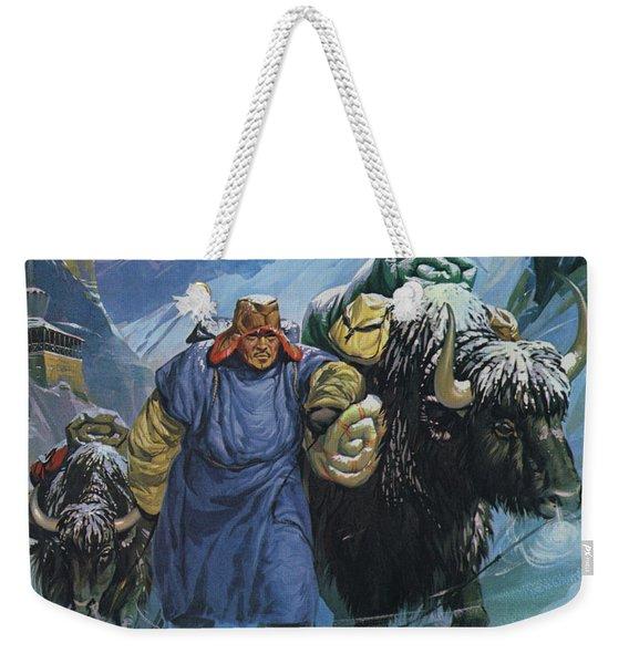Tibet Weekender Tote Bag