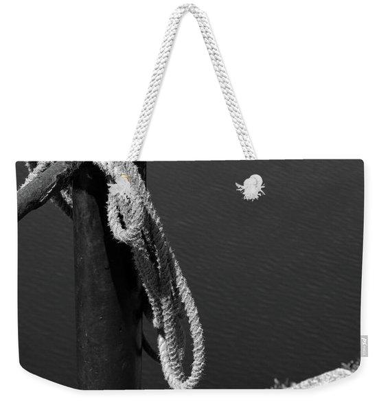 Tied, Rope Weekender Tote Bag