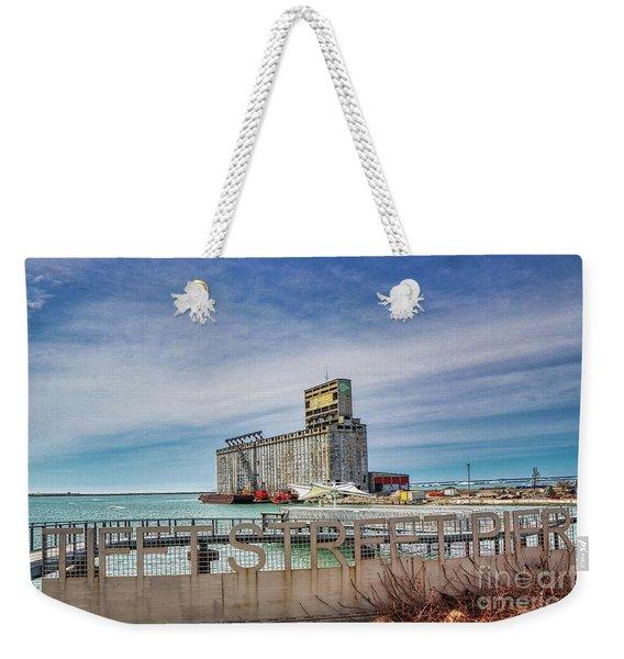 Tifft St Pier Weekender Tote Bag
