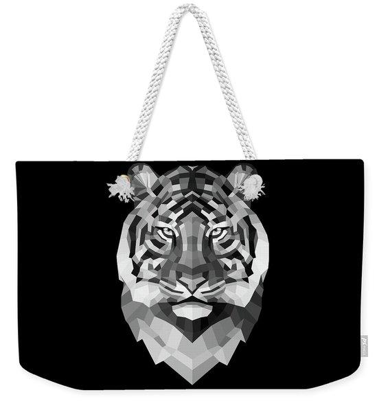 Tiger's Face Weekender Tote Bag