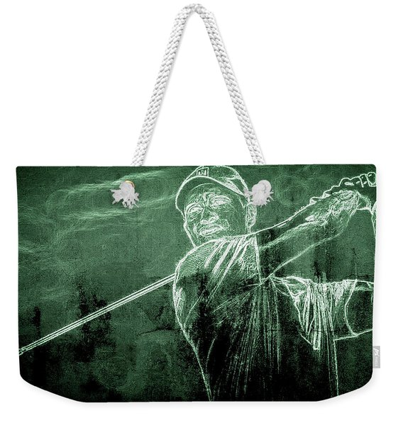 Tiger's On The Green Weekender Tote Bag