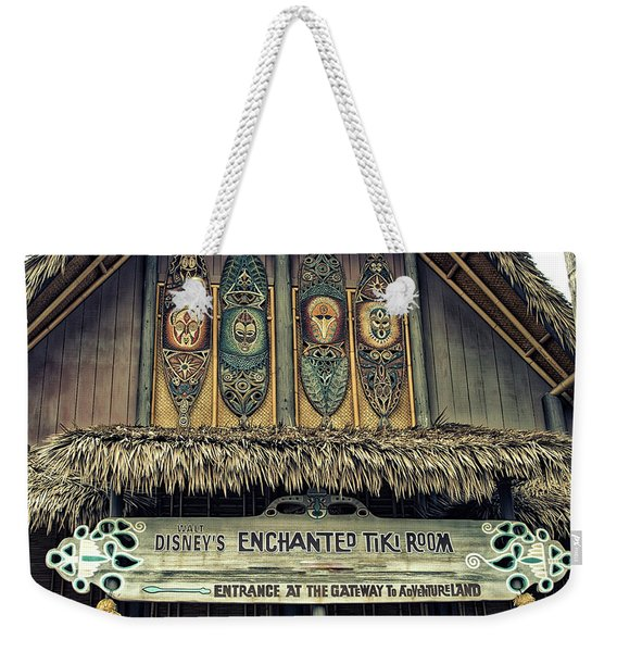 Tiki Room Adventureland Disneyland Weekender Tote Bag