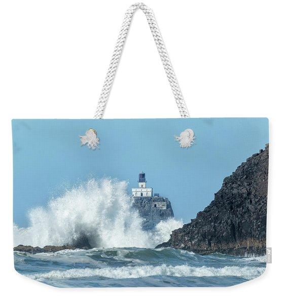 Tillamook Rock Light House, Oregon - Terrible Tilly Weekender Tote Bag