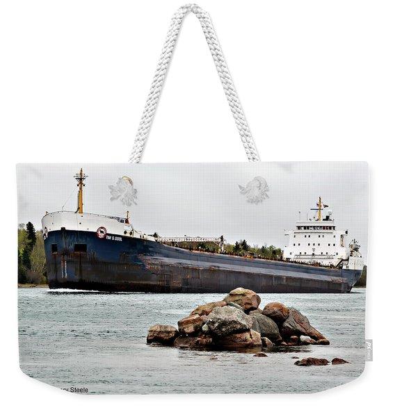 Tim Dool Freighter Weekender Tote Bag