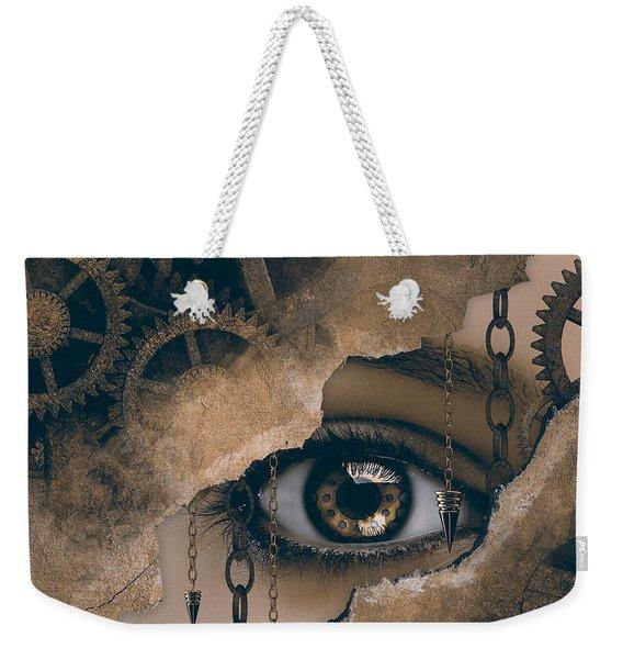 Time Glance Weekender Tote Bag